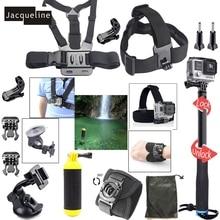 JACQUELINE for Accessories Selfie Stick Monopod Kit Set For Gopro hero 5 4 3+ 2 /Xiaomi yi /SJCAM SJ6000 SOOCO EKEN H9R Camera