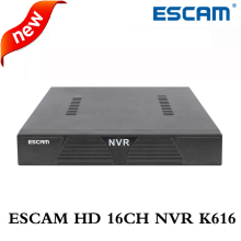 ESCAM K616 NVR HD 1080P 16CH Network Video Recorder H.264 HDMI/VGA Video Output Support Onvif P2P Cloud service remote viewing