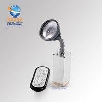 Раша Пуля 10 Вт зум Мини Батарея питание pinspot свет с ИК пульт дистанционного свет Системы pinspot для свадьбы события производств