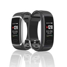 Купить с кэшбэком GT101 Smart Bracelet Color Screen Waterproof Sport 24 hours Heart Rate Sleep Monitor Wristband Men Women Bluetooth Smart Watch