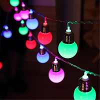NEW Outdoor 5M 20 Led 4 5cm Globe Ball Holiday String Lights Waterproof Fairy Party Fairy