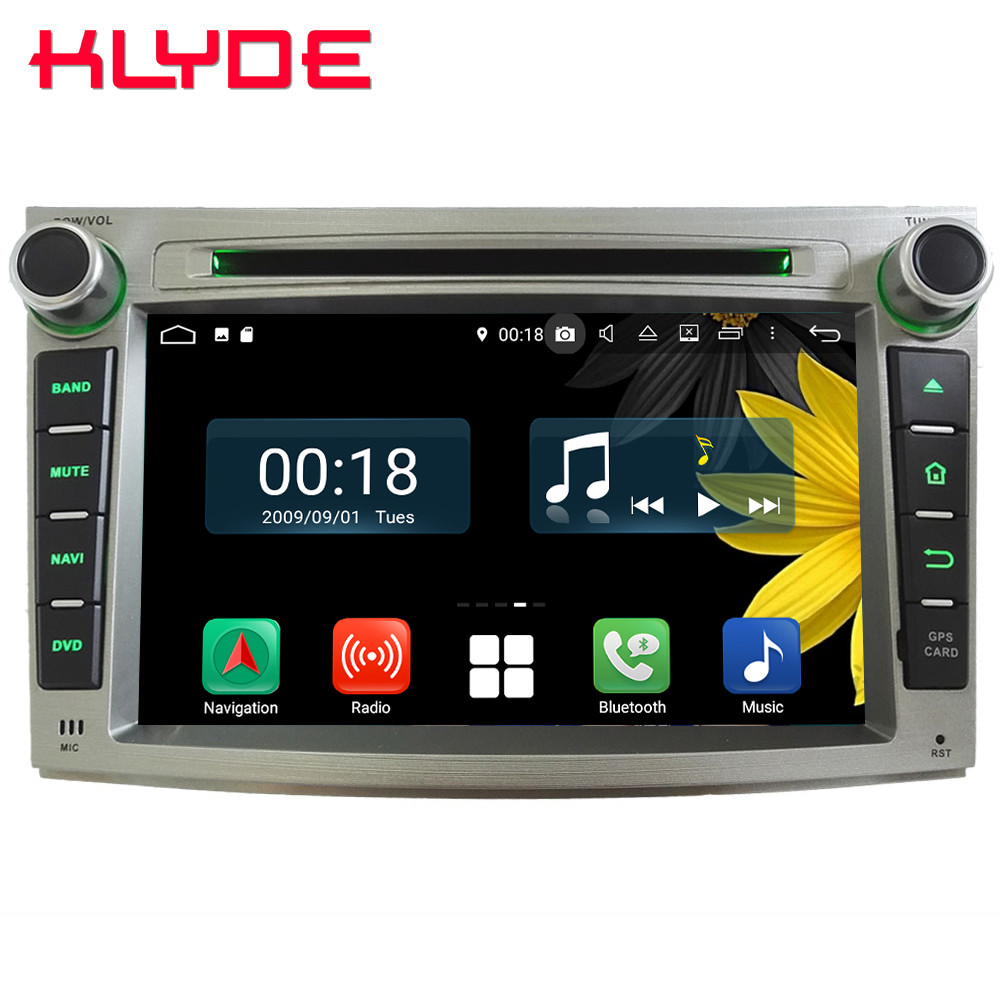 7 Octa Core 4G Android 8 1 4GB RAM 64GB ROM RDS Car DVD Player Radio