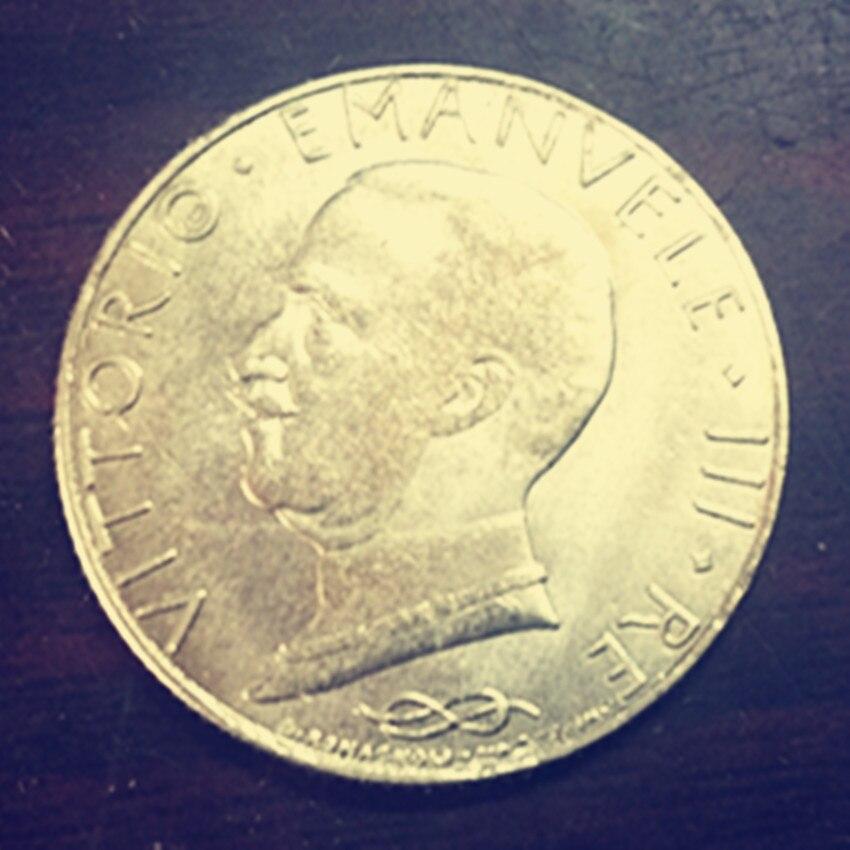 1931 Italy 100 Lire-Vittorio Emanuele III Gold Copy coin