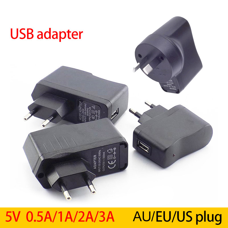 DC <font><b>5V</b></font> 0.5A/1A/2A/3A 3000ma <font><b>micro</b></font> <font><b>USB</b></font> Port Converter Charging Power supply <font><b>Adapter</b></font> EU AC to DC 2000ma For LED Strip Lights phone image