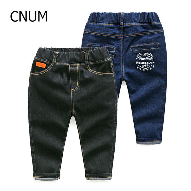 c7d9a1672 Spring Boys Jeans New Spring Boutique Children s Clothing Boy Child Print  Fashion Handsome Baby Boy Pants