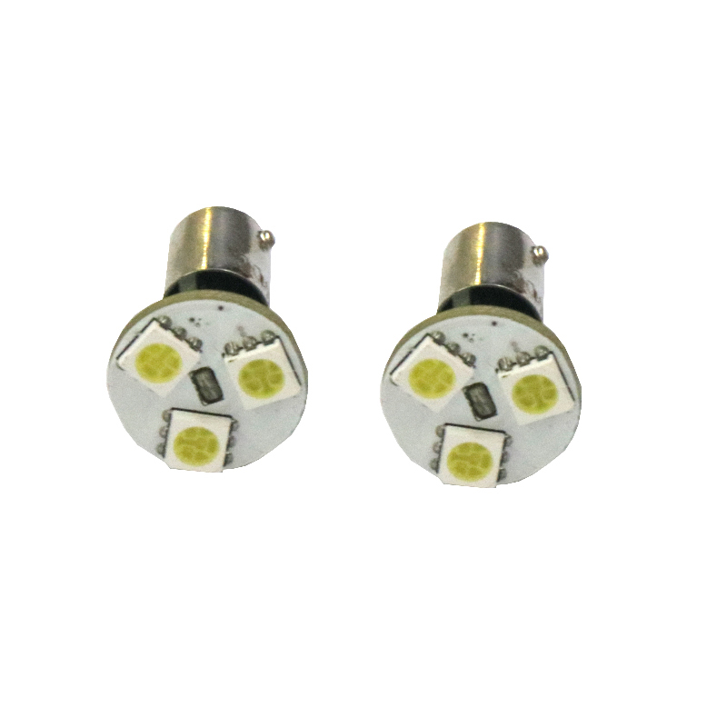 Image 5 - 10PCS BA9S LED Car 5050 Led 3 SMD 12V 6000K White Light Small Lights In wide light meter light  DC 12V 10Pcs-in Signal Lamp from Automobiles & Motorcycles