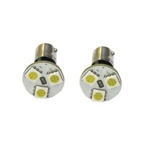 Image 5 - 10Pcs BA9S LED 5050 3SMD 12V 6000K Car Light White Small Lights In wide light meter light