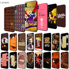 Lavaza Chocolates Pattern Soft Case for Apple iPhone 6 6S 7 8 Plus 5 5S SE X XS MAX XR TPU Cover