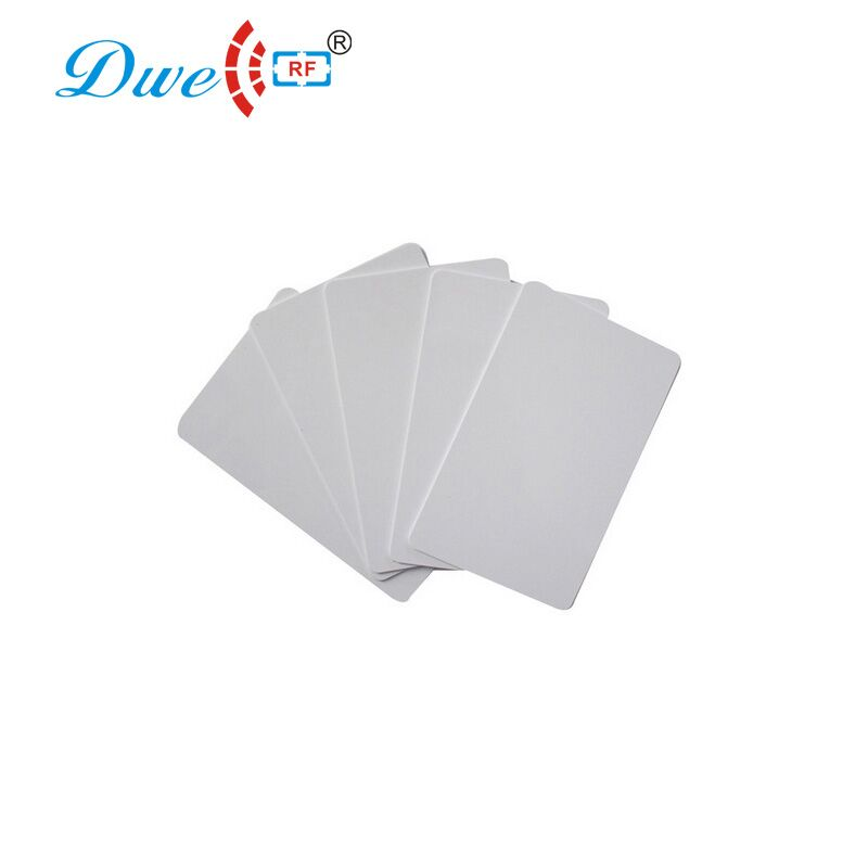 Купить с кэшбэком DWE CC RF 200pcs per lot Access Control Cards 13.56mhz MF iso 14443A S50  PVC access control rfid  card