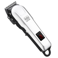 KIKI 2018 rechargeable hair clippper Professional Hair cutter Hair Trimmer Lithium battery NG 777/NG 888 with Lcd display