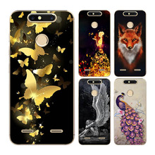 Goterfly For ZTE blade V8mini Cute Cartoon Cat Phone Cover Bag 5.0 patterned soft silicon Silicone Cases