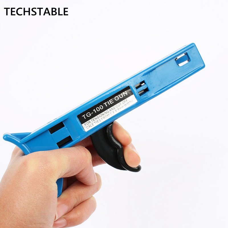 High Quality TG-100 Mount And A Cutting Tool And Wire Especially For Cable Ties Gun For Nylon Cable Tie Width: 2.4-4.8mm