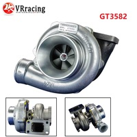 VR GT3582 GT35 GT3582R T3 flange oil and water 4 bolt turbocharger turbo compressor A/R .70 Turbine A/R .82 VR TURBO32 82