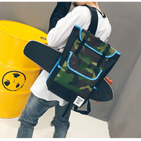 Quality Oxford Fabric Skateboard Bag backpack for skateboarding Outdoor Sports Shoulder Bags 20 35L