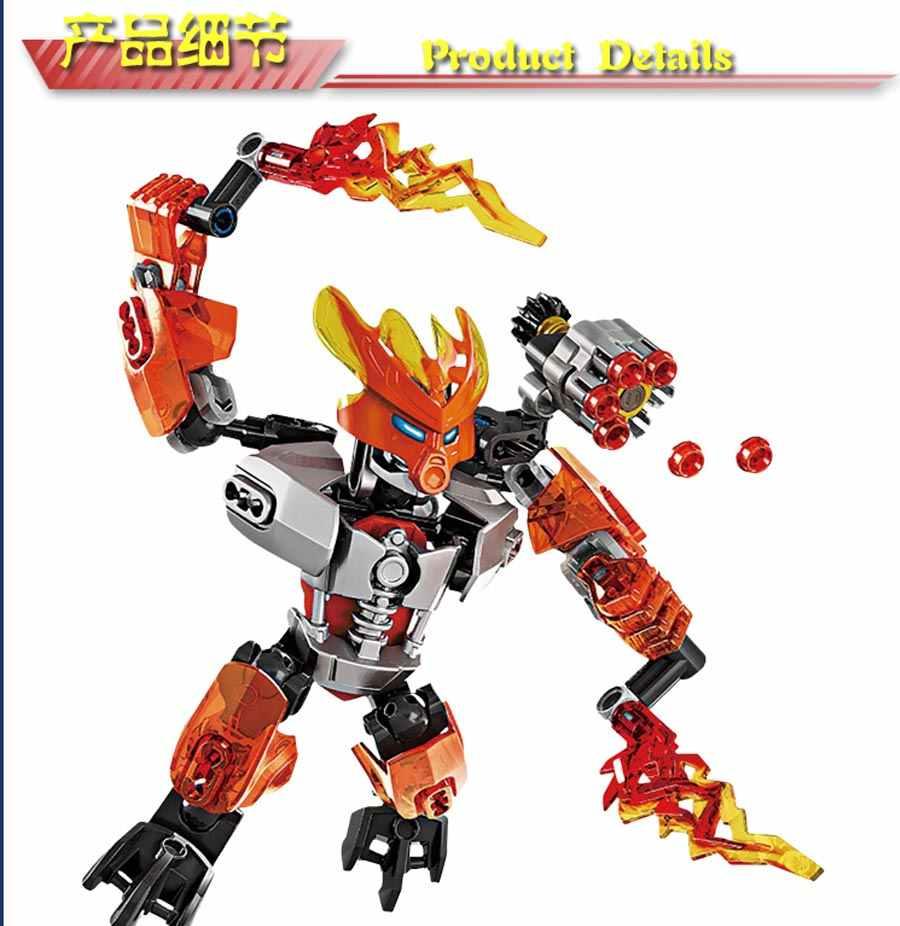Reedcall 64 pcs Bionicle 70779 Protetor de Pedra Kit De Construção Compatível Legoings Blocos de Construção de Brinquedos