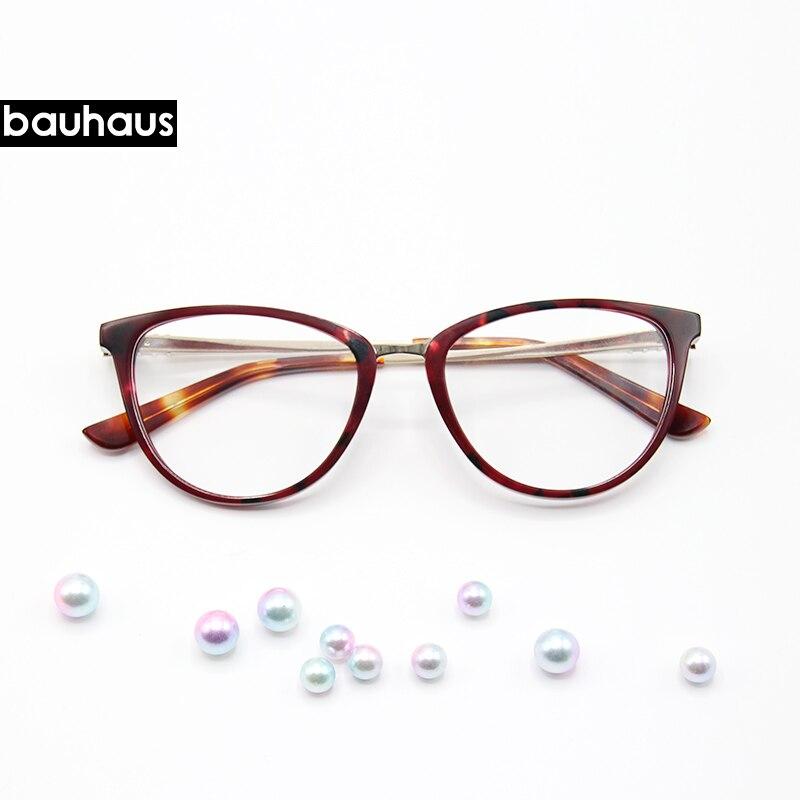 9d34d6c899562f Kopen Goedkoop Bauhaus Retro Cat Eye Brillen Vrouwen Optische ...