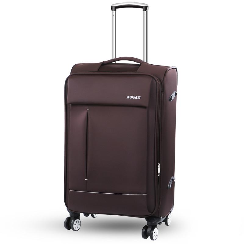 20 22 24 26inch oxford fabric waterproof travel luggage bags on braked universal wheels,high quality commercial trolley luggage