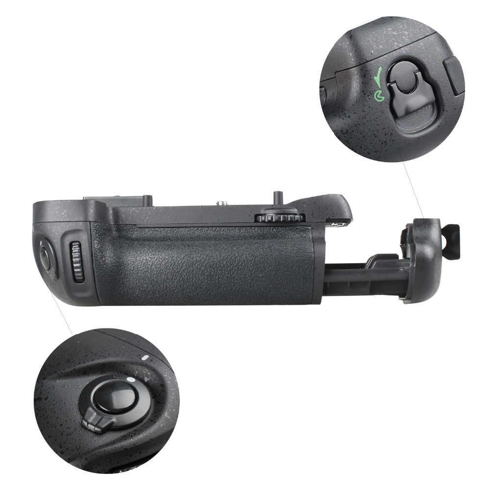 Spash multi-power pionowy uchwyt baterii do Nikon D7100 D7200 część zamienna lustrzanki cyfrowej MB-D15 praca z EN-EL15