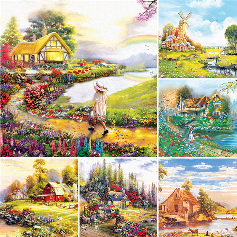 Jigsaw puzzle 1000 pieces Fantasy Landscapes kids puzzles educational toys for adults children toy home decoration collectiable 1