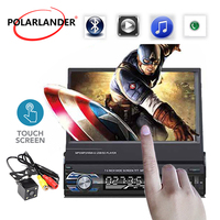 Radio cassette player 1 DIN 7 inch Bluetooth Car Radio touch screen mp4 MP5 Player FM USB TF Aux in Autoradio Audio Mirror Link