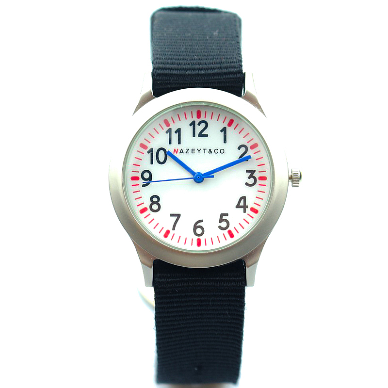 Student Outdoor Sports Watch Fashion Boys And Girls Blue Hands Silver Cute Cartoon Army Watch Middle Kids Birthday Gift Clock