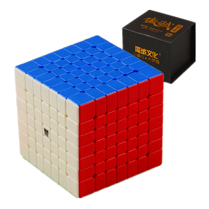 Moyu Aofu GTS 7x7x7 Magnetic Cube Professional GTSM 7x7 Magic Speed Cube GTS 7 M Twist Educational ToysMoyu Aofu GTS 7x7x7 Magnetic Cube Professional GTSM 7x7 Magic Speed Cube GTS 7 M Twist Educational Toys
