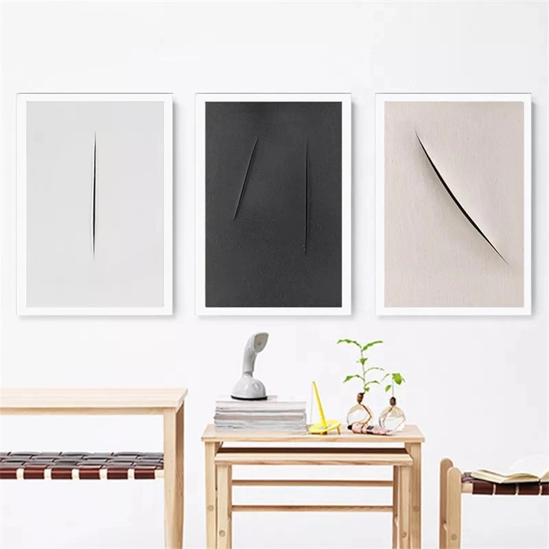 Abstract Scratch Nordic Posters And Prints Wall Art Canvas Painting Modern Minimalist Pictures For Living Room Unframed