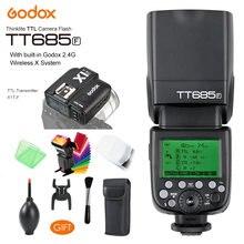 Беспроводная вспышка godox tt685f 24g gn60 hss 1/8000 s ttl