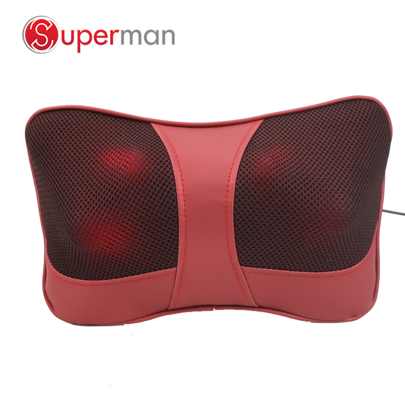 Dropshipping cervical massage pillow neck neck massager electric car seat back shoulder massages cushion with heat shiatsuDropshipping cervical massage pillow neck neck massager electric car seat back shoulder massages cushion with heat shiatsu