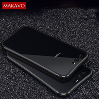 Luxury For Huawei Honor 9 Case 2 In 1 Slim Metal Frame Acrylic Back Cover Honor9