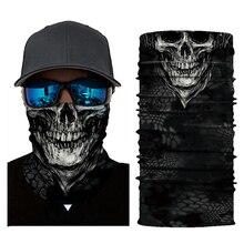 Motorcycle Skull Biker-Face-Shield Mask Mascara Balaclava Visage Ghost Cagoule Halloween