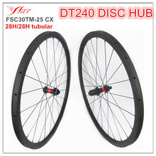 NEW 12-100 12-142mm thru axle cyclcocross wheelsets 30mm 25mm tubular disc brake wheelsets for high Pro CX race