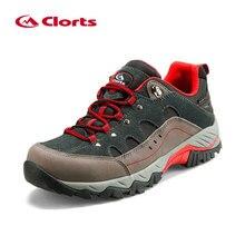 Clorts Men Hiking climbing shoes zapatos senderismo hombre Waterproof Uneebtex Outdoor Trekking Shoes Rubber Sports Sneakers
