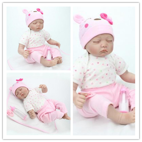 Europe and the United States popular, realistic doll of baby silicone reborn babies dolls europe and the united states in the summer of new crystals with dew toe hit the color of the air after the air buckle with a thi