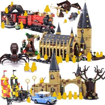 Mới Harri Serices Đại Potter Hội Trường Tương Thích với 75954 Khối Xây Dựng Gạch Đồ Chơi Quà Tặng Giáng Sinh