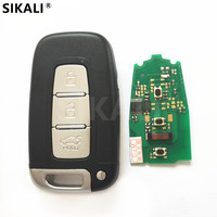 3 botões Carro Remoto Chave Inteligente 433.9 MHz para Mohave K2 K5 Sportage Sorento Rio Optima Alma Cerato forte para KIA|key 433|key key|key smart key -
