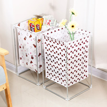 1pcs Folding Dirty Clothes Storage Basket Waterproof For Bathroom Home Multi-Function Toy Organizer Shelf