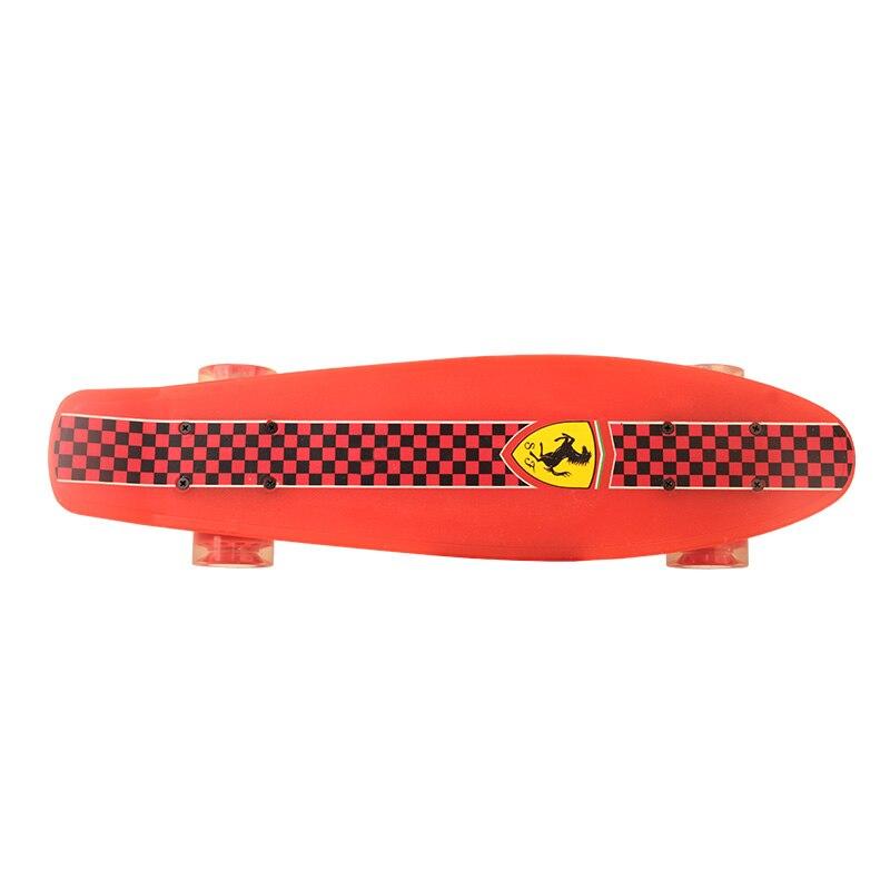 Enfant Quatre Roues Double Cruiser Planche À Roulettes flip skate board pour enfants garçon Max chargement 50 kg - 3