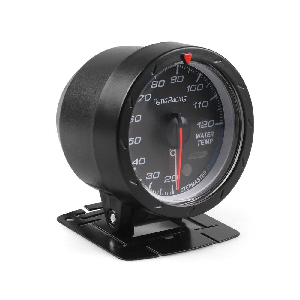Dynoracing 60 мм Автомобильный датчик температуры воды 20-120 градусов Цельсия измеритель температуры воды красный и белый Освещение автомобиля датчик с датчиком BX101469