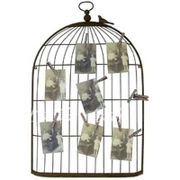 Chamie iron birdcage photo wall photo clip business card photo frame wall painting entranceway muons