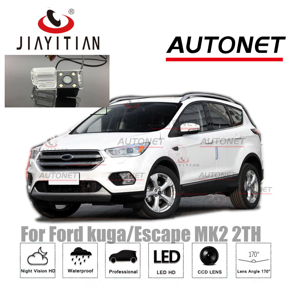 JIAYITIAN Rear View Camera For Ford Kuga/Escape 2013 2015 2017 2018 2019MK2 CCD/Night Vision/license Plate Camera/Backup Camera