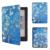 2016 Nuevo Folio de la Cubierta Protectora Funda de Piel para Kobo aura edición 2 6 ''ereader + film protector de pantalla + Stylus