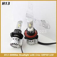 H13 XHP50 72W LED Headlight Light Conversion