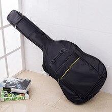 """Высокое качество 4"""" /40"""" рюкзак для акустической гитары с двумя ремешками мягкий чехол для гитары сумка для Гига рюкзак"""