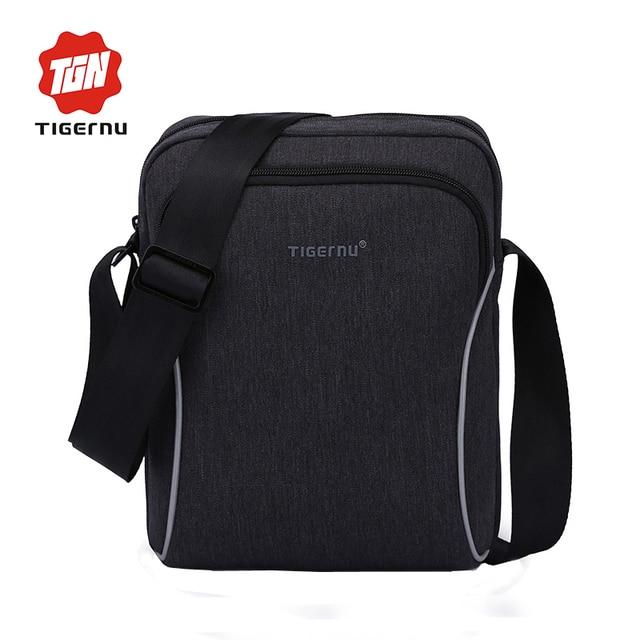 2017 nueva moda tigernu famosa marca viajes de negocios cross body bag women bolsas de mensajero crossbody bolsos para hombres bolsos de hombro