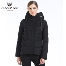 GASMAN 2018 New Winter Collection Womens Down jackets Short Coats And Jackets For Women Fashion Brand Coat Parka