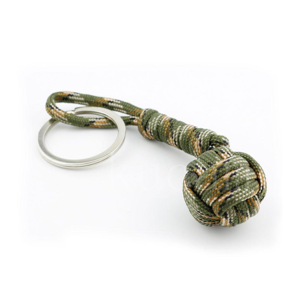 Nova 3/Proteção de Segurança Cor Macaco Punho de Aço do Rolamento de Esferas Self Defense Colhedor Survival Chaveiro Dropshipping 5