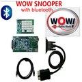Сильные fuction! 5.008R1 новый Релиз Программного Обеспечения WoW snooper диагностический инструмент С Bluetooth CDP Автомобили/Грузовики wow snooper