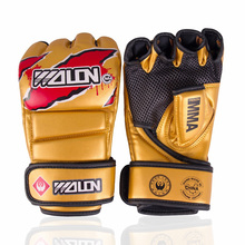 Kickboxing training gloves
