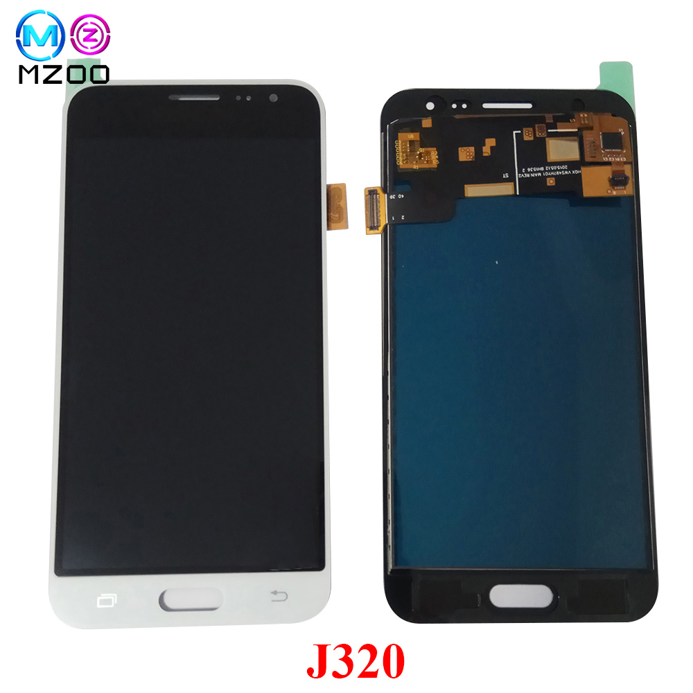 For SAMSUNG GALAXY J3 2016 J320 J320F SM-J320F LCD Display Touch Screen Panel Digitizer Assembly LCD Pantalla Replace Parts+ToolFor SAMSUNG GALAXY J3 2016 J320 J320F SM-J320F LCD Display Touch Screen Panel Digitizer Assembly LCD Pantalla Replace Parts+Tool